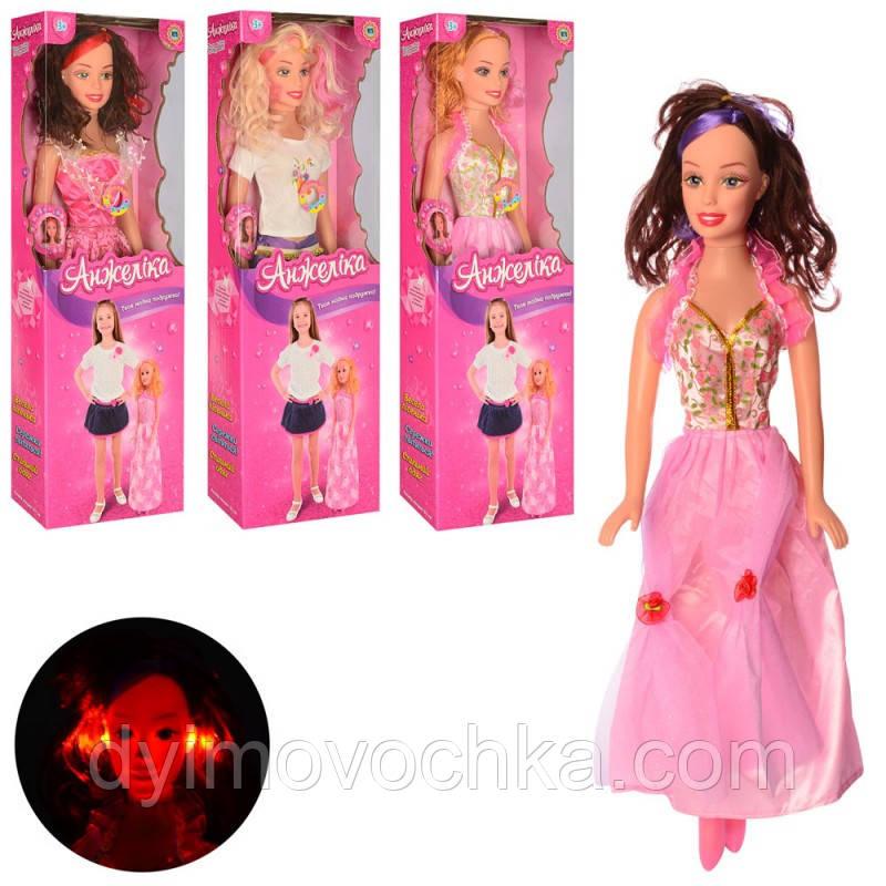 Кукла A1845 I UA, ростовая, 63 см, музыкальная (украинская песня), свет, на батарейке