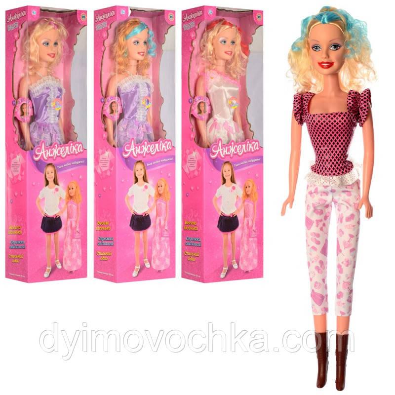 Кукла A1843 I UA, ростовая, 91 см, музыкальная (украинский), свет, на батарейке