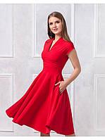 Платье с пышной юбкой пт105, фото 1