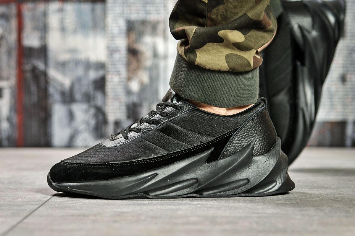 Кроссовки мужские 15601, Adidas Sharks, черные ( 43 45  )