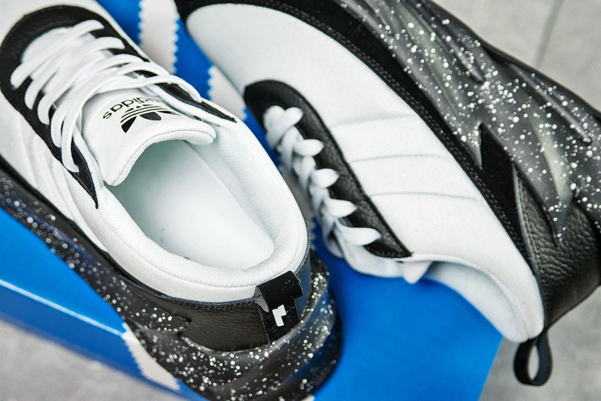 Кроссовки мужские Adidas Sharks, белые (15605) размеры в наличии ► [   8