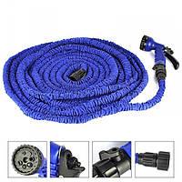 Растяжной шланг X-hose 60 метрів, шланг з розпилювачем, растяжной шланг, садовий поливальний шланг, диво шланг, фото 1
