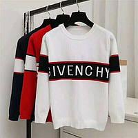 Стильный свитерок Givenchy удлиненный белый., фото 1