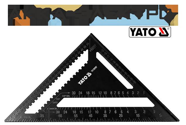 Угольник плотницкий Yato  300мм (YT-70787)