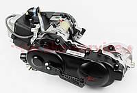 Двигатель скутерный в сборе 4Т-80куб (короткий вариатор, короткий вал), фото 1