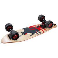 Скейт, канадский клен, чехол, дека 60х16 см, PU, фото 1