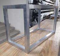 Алюминиевый каркас из алюминиевой трубы (крепление под 90 градусов открытое), фото 1