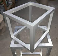 Конструктор для сборки каркаса  из алюминиевой трубы (крепление под 90 градусов закрытое), фото 1