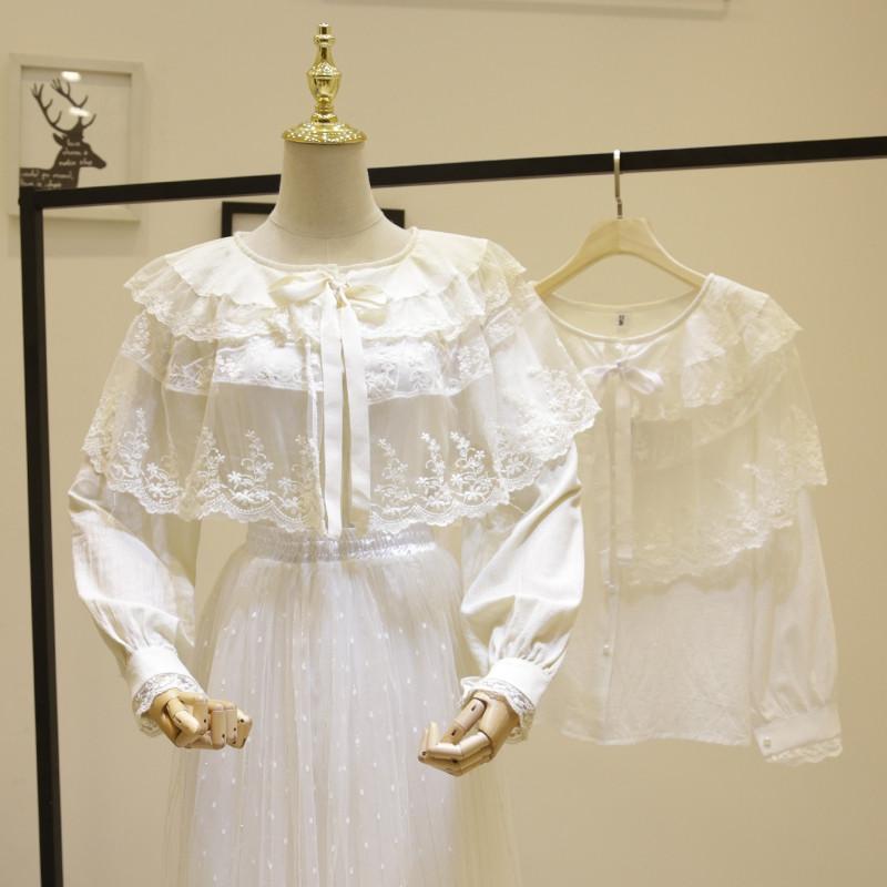 Ошатна бавовняна блуза 46-48
