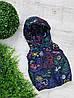 Жилетка код 102 для мальчика,размер 98-110 (2.5-5 лет), цвет - синий микки