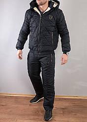 Зимний мужской спортивный костюм Philipp Plein на овчине