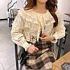 Нарядная хлопковая блузка 46-48, фото 3