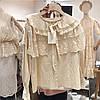 Нарядная хлопковая блузка 46-48, фото 5