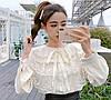 Ошатна бавовняна блуза 46-48, фото 2
