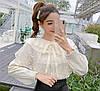 Ошатна бавовняна блуза 46-48, фото 3