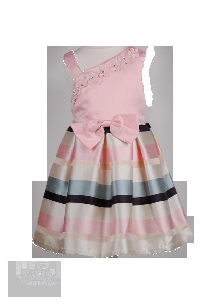 Праздничное детское платье с бретелью
