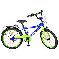 Детский велосипед Profi Top Grade Y20103, двухколесный, 20 дюймов, синий