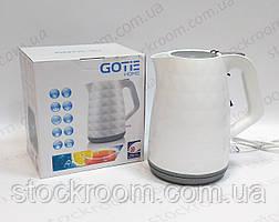 Чайник электрический Gotie GCP 130 B белый