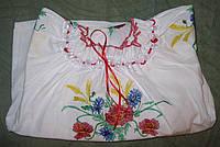 Детская сорочка вышиванка, размер 28-44 128 Белый
