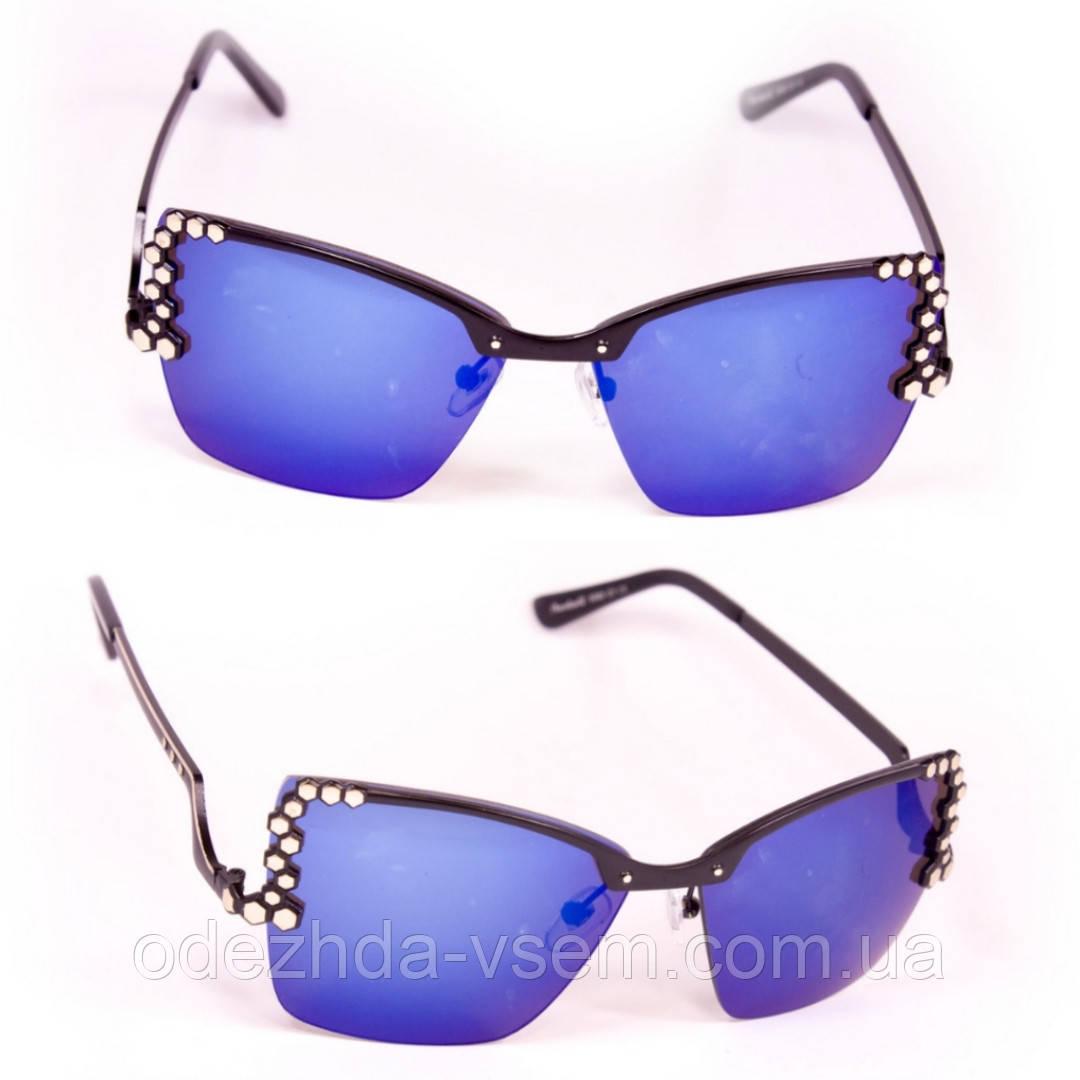 Окуляри жіночі сині полегшені