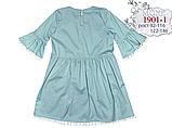Ментоловое  платье для девочки  ТМ МОНЕ р-р 122,128,134,140, фото 5
