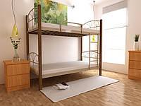 """Двухъярусная металлическая кровать """"Валенсия"""""""