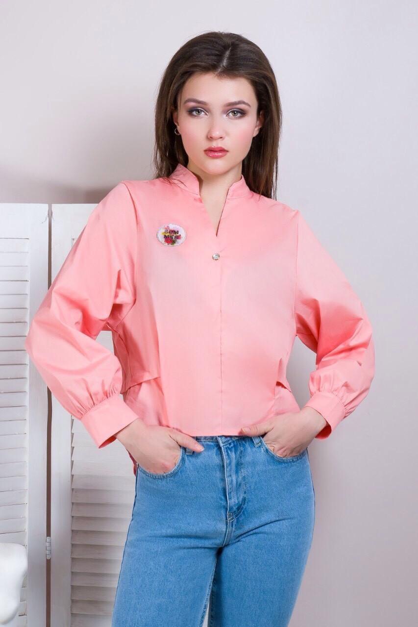 Модная рубашка на весну (в расцветках 42-48)