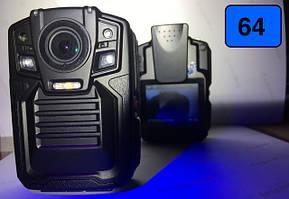 Видеорегистраторы нагрудные 64гб (для полиции и охранных структур)