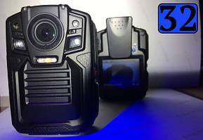 Камеры нагрудные 32Gb (для полиции и силовых структур)