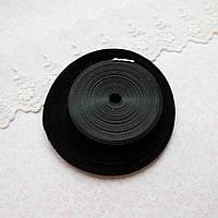 Липучка для одежды, отрез 50 см, ширина 6 мм - черная