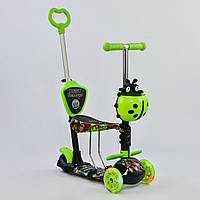 "Самокат Best Scooter 5 в 1 ""Абстракция"" 55940 подсветка колес"