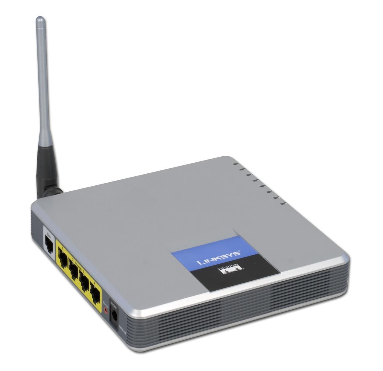 ADSL Маршрутизатор Linksys WAG54GP2