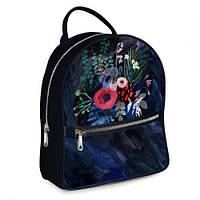 Рюкзак 3D міський з квітами, букет маків