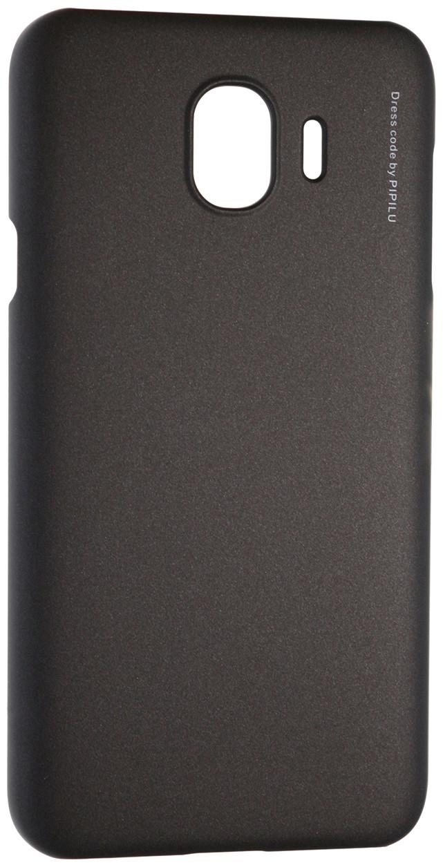 Чохол-накладка X-LEVEL для Samsung Galaxy J4 (2018) Metallic series Чорний (230380)