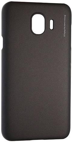 Чохол-накладка X-LEVEL для Samsung Galaxy J4 (2018) Metallic series Чорний (230380), фото 2