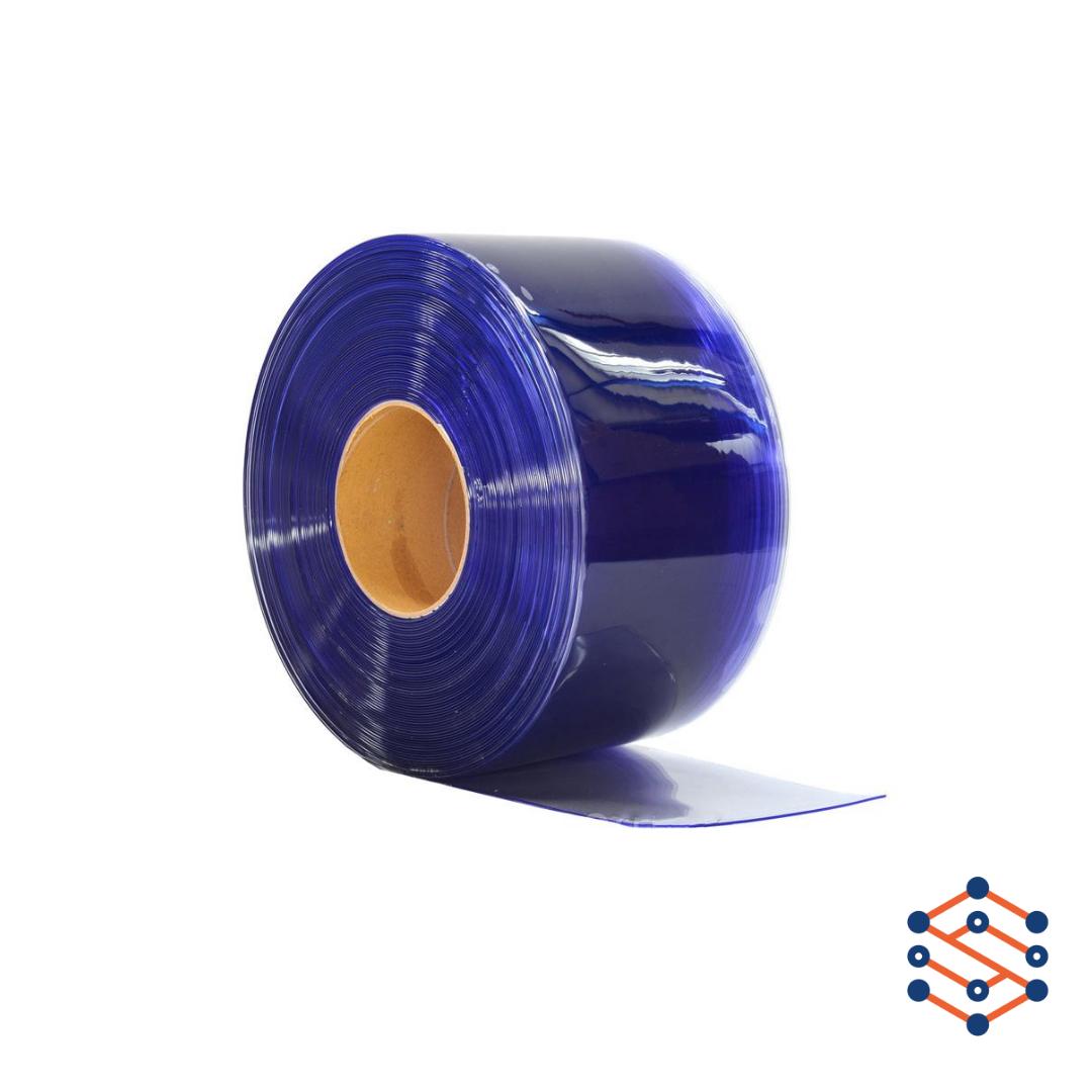 Пвх лента для завесы 400х4 мм прозрачная гладкая