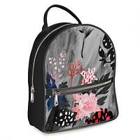 Рюкзак 3D міський з квітами Осіння акварель