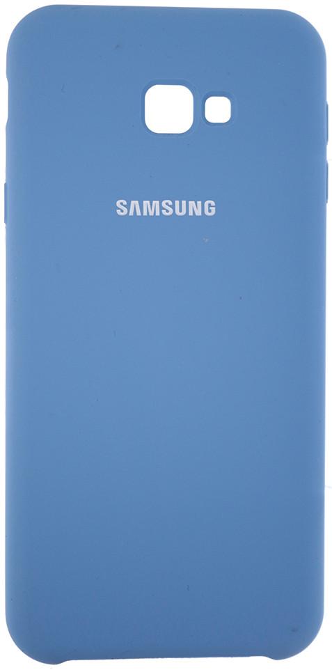 Чохол-накладка Silicone Case для Samsung Galaxy J4 Plus (2018) / J415 Блакитний (245521)