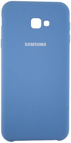 Чохол-накладка Silicone Case для Samsung Galaxy J4 Plus (2018) / J415 Блакитний (245521), фото 2