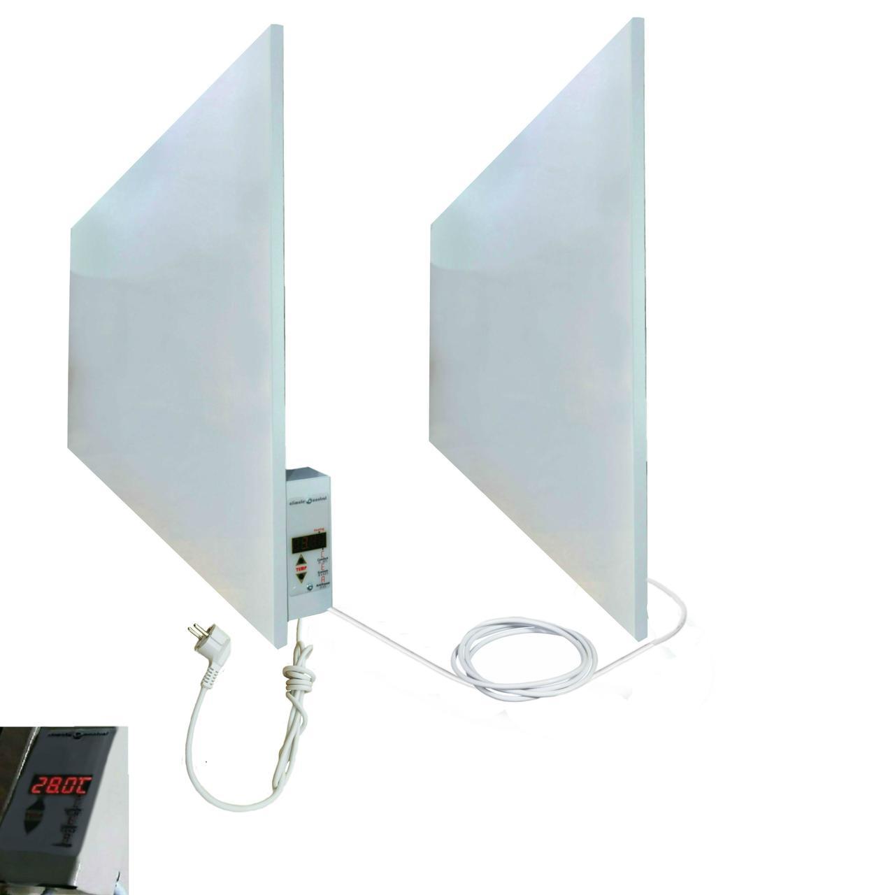 Электрообогревательная панель УКРОП М1400ВТ с терморегулятором (комплект М700*2шт)