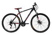 """Велосипед Oskar 29""""-1848 черно-красный steel"""