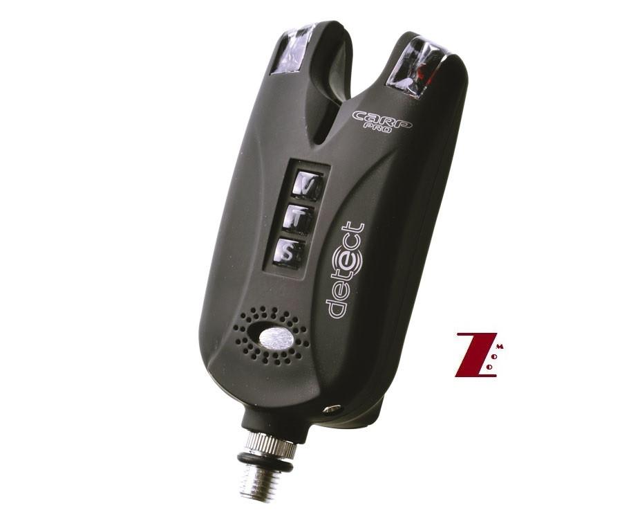 Электронный сигнализатор поклевки Carp Pro Bite Alarm Detect 9V VTS