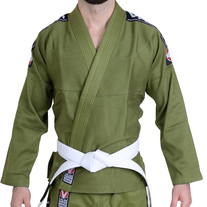 Кимоно для Бразильского Джиу Джитсу Valor Bravura Green