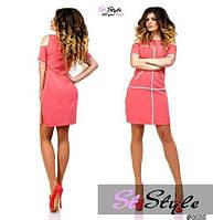 Платье женское оригинал 2 цвета, большые размері