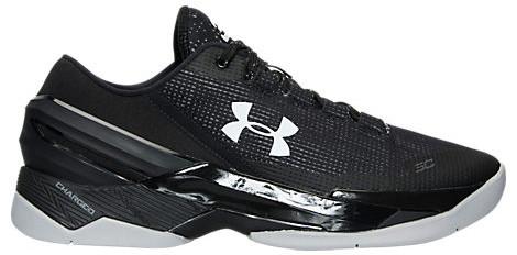 Мужские кроссовки Under Armour Curry 2 Low Essential (Premium-class) черные