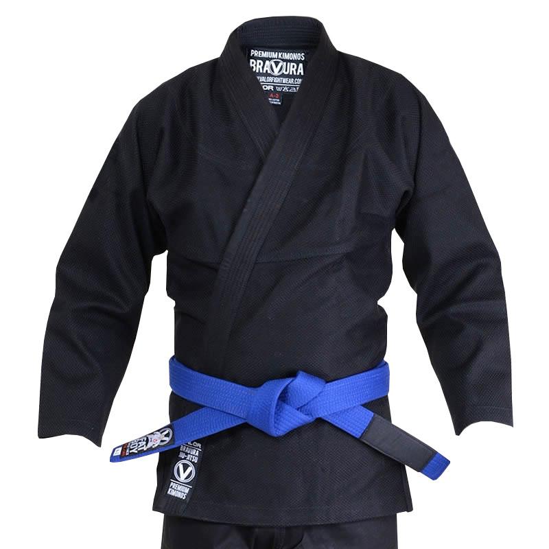 Кимоно для Бразильского Джиу Джитсу Valor Classic Plain Black