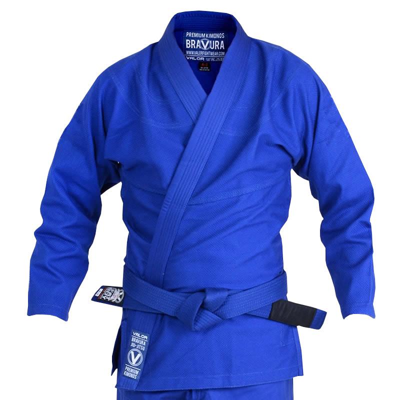 Кимоно для Бразильского Джиу Джитсу Valor Classic Plain Blue