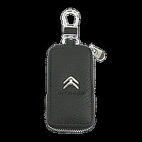 Ключница Carss с логотипом CITROEN 17004 черная