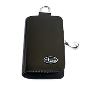 Ключница Carss с логотипом SUBARU 21002 черная