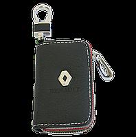 Ключница Carss с логотипом RENAULT 20006 черная